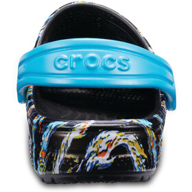 Crocs Classic Graphic Sandals Children black/colourful